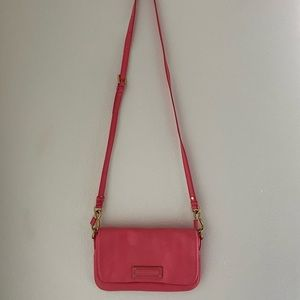 Pink Marc Jacobs crossbody bag